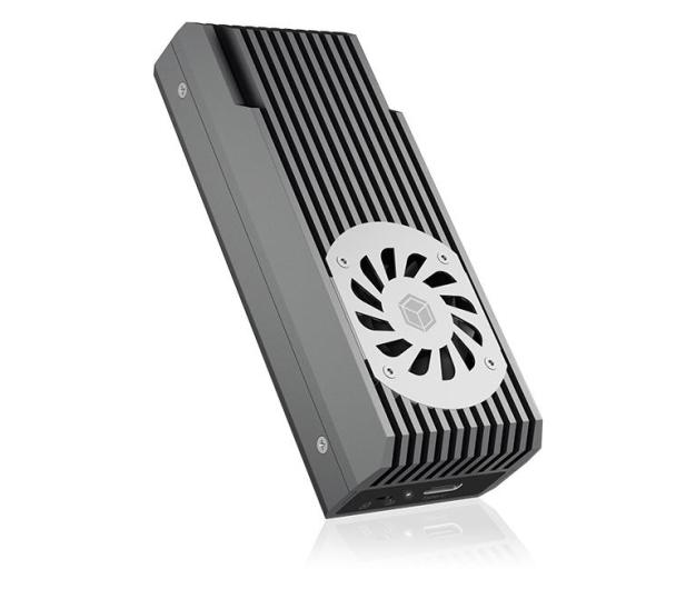 ICY BOX M.2 - USB 3.2. Gen 2 (do 20 Gbps, z chłodzeniem) - 601742 - zdjęcie 2