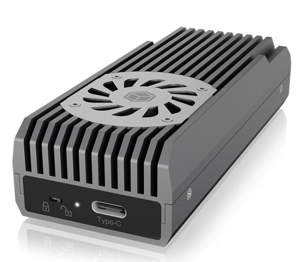 ICY BOX M.2 - USB 3.2. Gen 2 (do 20 Gbps, z chłodzeniem) - 601742 - zdjęcie