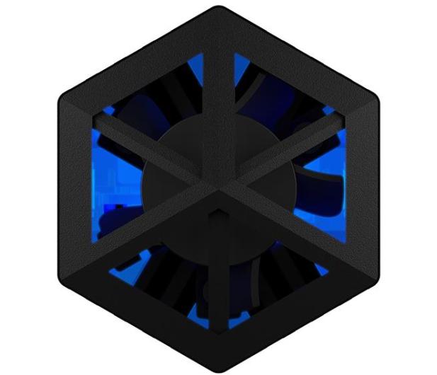 ICY BOX USB-C do M.2 NVMe (10 Gbps, Aluminium, RGB) - 601762 - zdjęcie 3