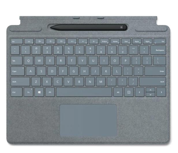 Microsoft Type Cover do Surface Pro X + Rysik Ice Blue - 601503 - zdjęcie
