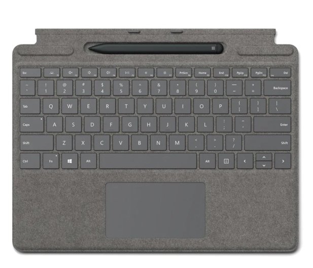 Microsoft Type Cover do Surface Pro X + Rysik Concrete - 601504 - zdjęcie
