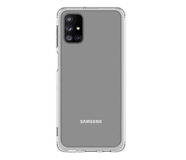 Samsung Clear Cover do Galaxy M31s  - 602663 - zdjęcie