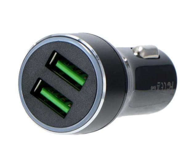 Silver Monkey Ładowarka samochodowa 2x USB, 3A, QC 3.0 - 487141 - zdjęcie