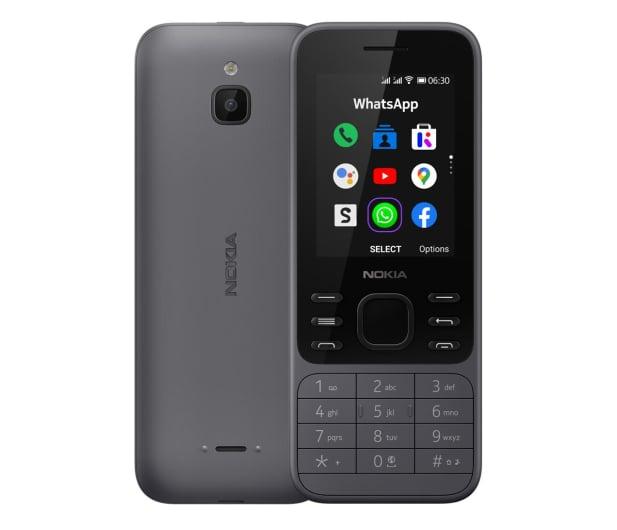Nokia 6300 4G Dual SIM czarny - 612777 - zdjęcie