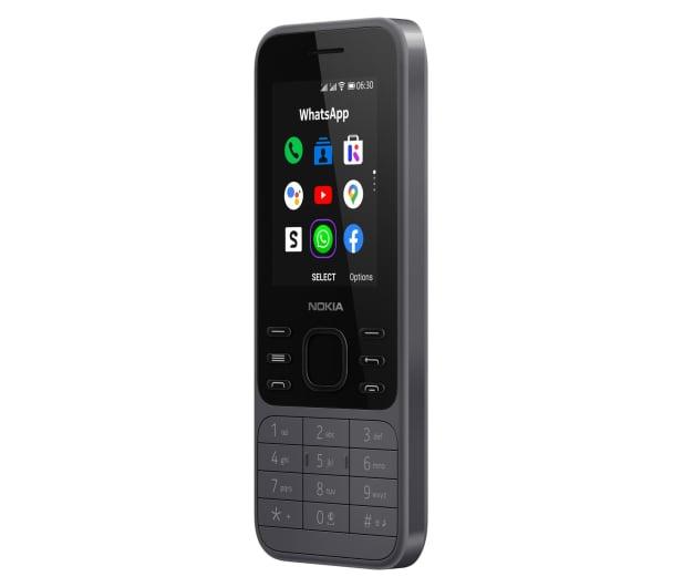 Nokia 6300 4G Dual SIM czarny - 612777 - zdjęcie 3