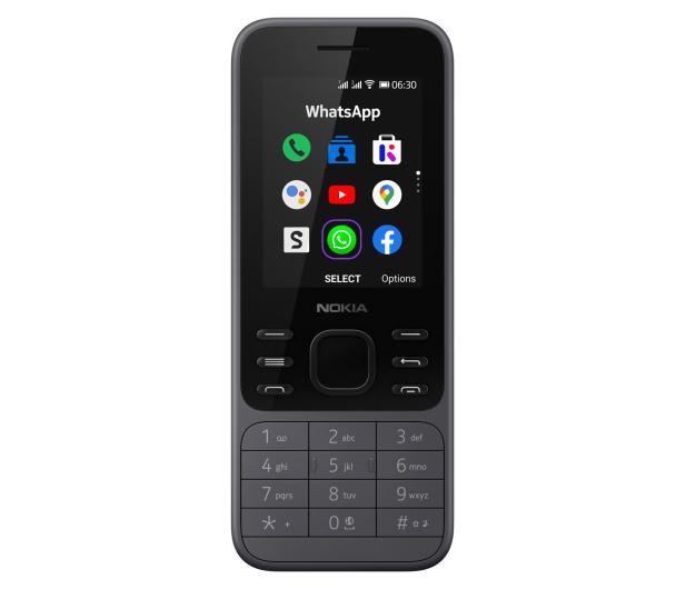 Nokia 6300 4G Dual SIM czarny - 612777 - zdjęcie 4