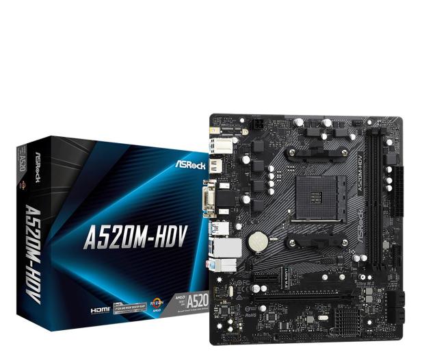 ASRock A520M-HDV - 613680 - zdjęcie