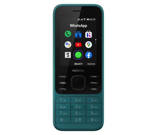 Nokia 6300 4G Dual SIM cyan - 612780 - zdjęcie 4
