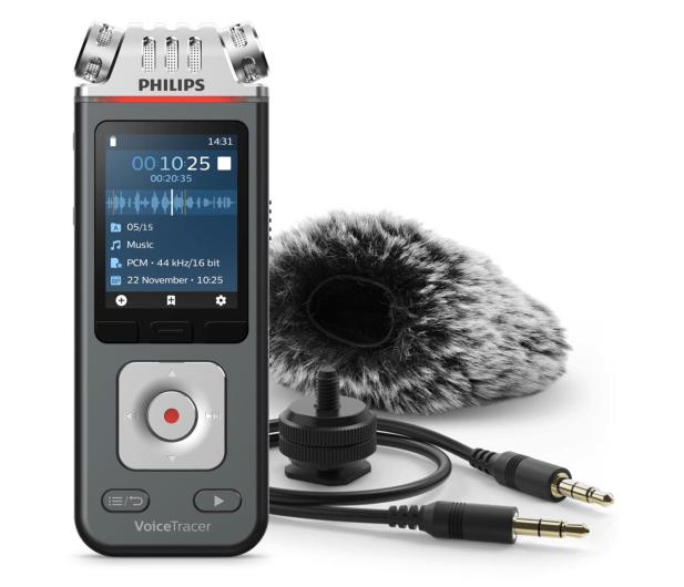 Philips Dyktafon cyfrowy DVT7110 - 613305 - zdjęcie