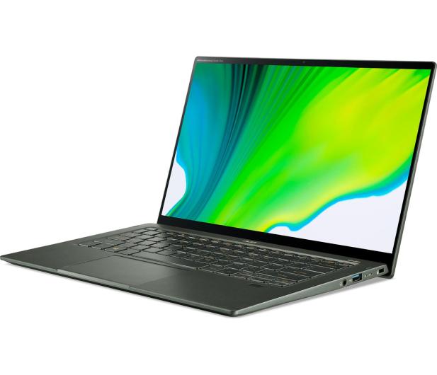 Acer Swift 5 i7-1165G7/16GB/1TB/W10 IPS Dotyk Zielony - 613357 - zdjęcie 2