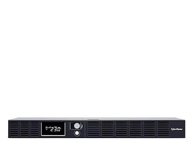 CyberPower UPS OR600ERM1U (600VA/360W, 6xIEC, AVR, LCD) - 614391 - zdjęcie