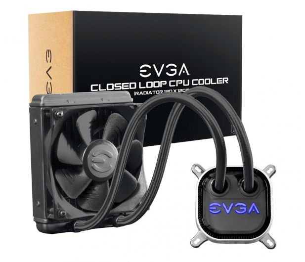 EVGA CLC 12 RGB 120mm - 614469 - zdjęcie