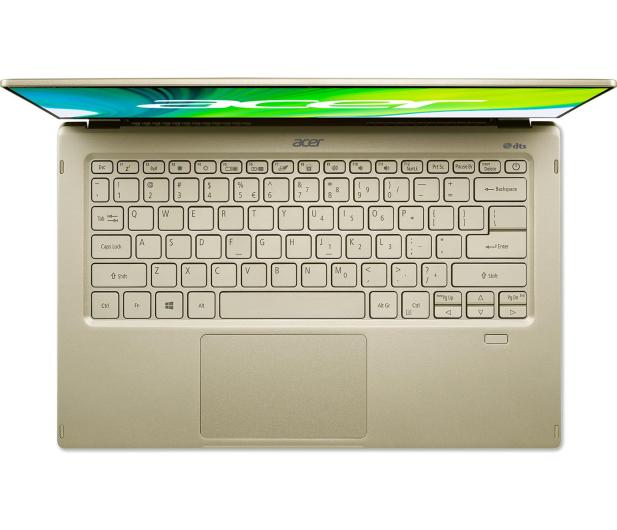 Acer Swift 5 i7-1165G7/16GB/1TB/W10 IPS Dotyk Złoty - 613345 - zdjęcie 5