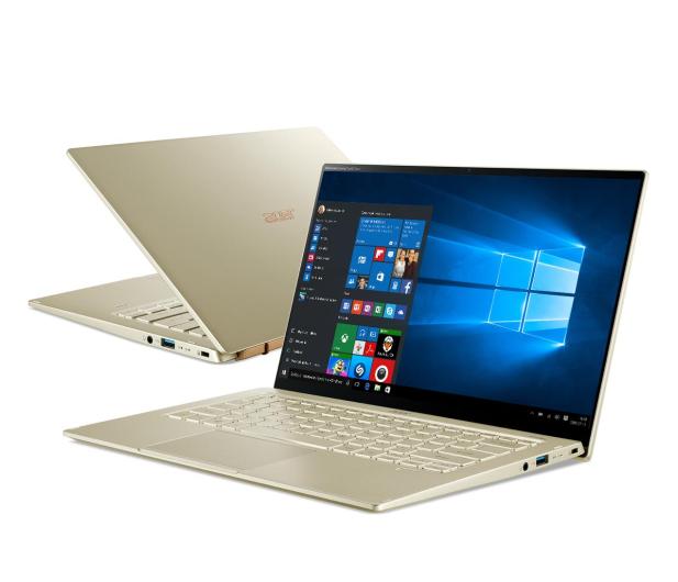 Acer Swift 5 i7-1165G7/16GB/1TB/W10 IPS Dotyk Złoty - 613345 - zdjęcie