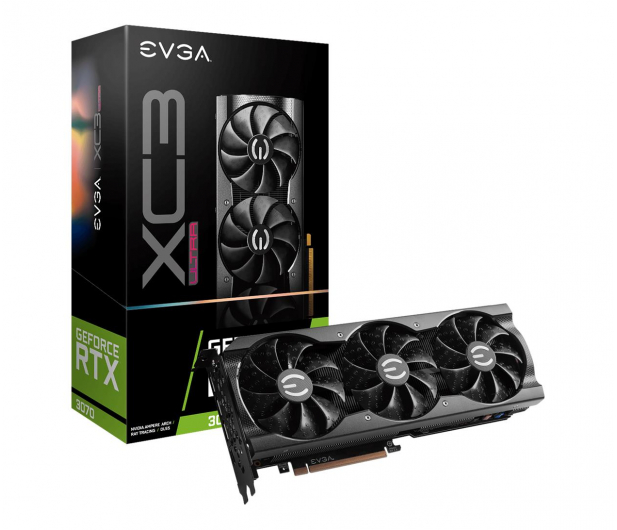 EVGA GeForce RTX 3070 ULTRA GAMING XC3 8GB GDDR6 - 614975 - zdjęcie