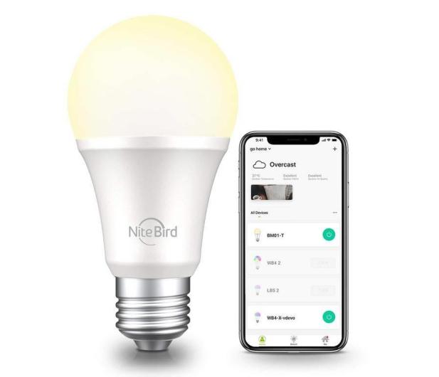 Gosund Nite Bird LED Smart Bulb White (E27 8W) - 617304 - zdjęcie 2