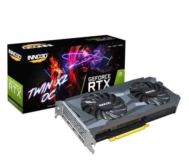 Inno3D GeForce RTX 3060 Ti Twin X2 OC 8GB GDDR6  - 610293 - zdjęcie