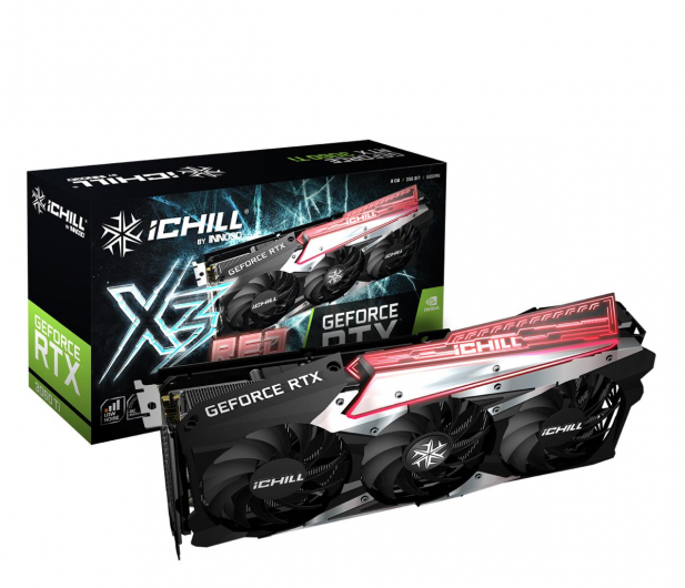 Inno3D GeForce RTX 3060 Ti iChill X3 8GB GDDR6  - 610294 - zdjęcie