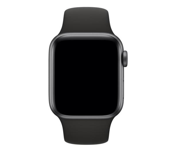 Apple Pasek Sportowy do Apple Watch czarny - 487884 - zdjęcie