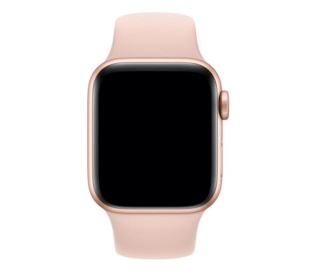 Apple Pasek Sportowy do Apple Watch piaskowy róż - 487889 - zdjęcie