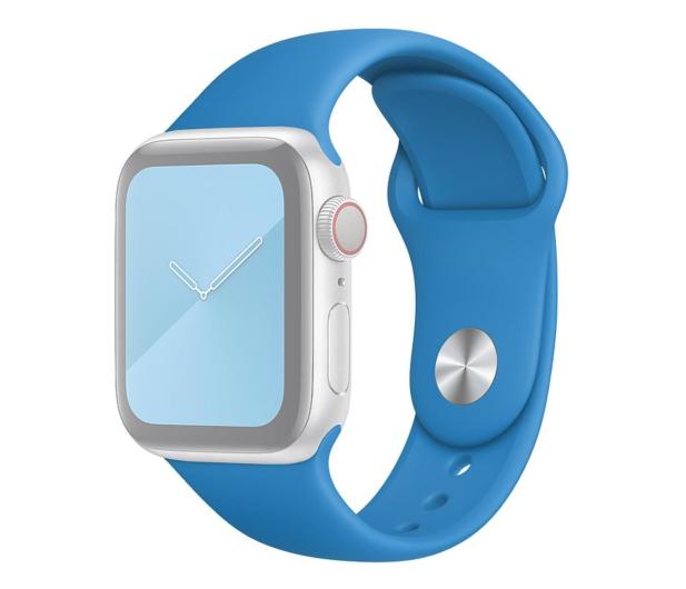 Apple Pasek Sportowy do Apple Watch błękitna fala - 553830 - zdjęcie