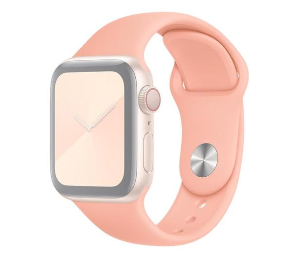 Apple Pasek Sportowy do Apple Watch grejpfrutowy  - 553829 - zdjęcie