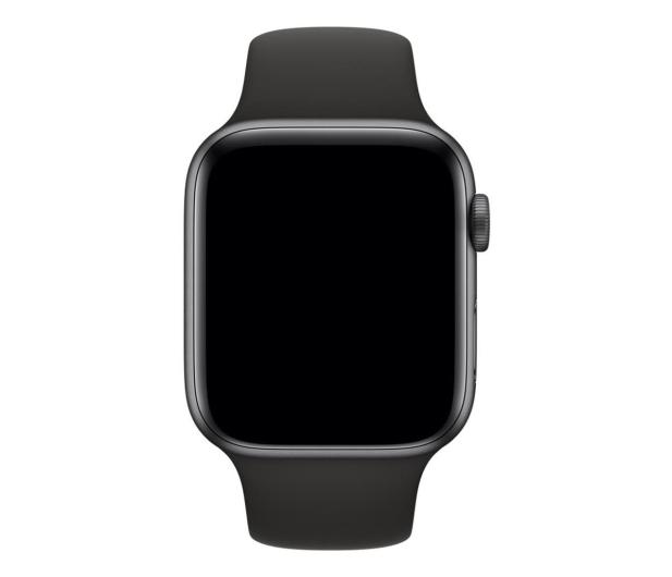 Apple Pasek Sportowy do Apple Watch czarny - 488000 - zdjęcie