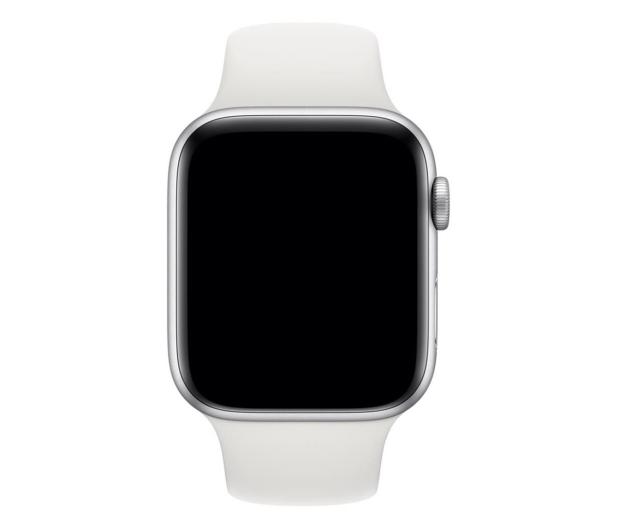 Apple Pasek Sportowy do Apple Watch biały - 488011 - zdjęcie