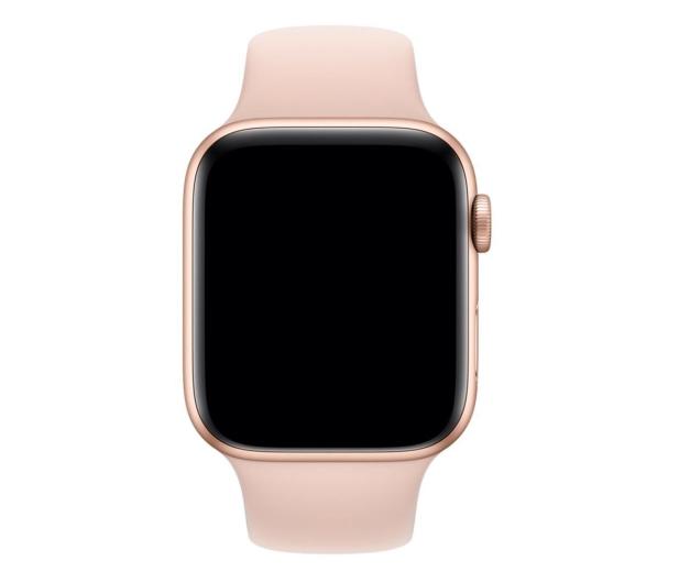 Apple Pasek Sportowy do Apple Watch piaskowy róż - 488006 - zdjęcie