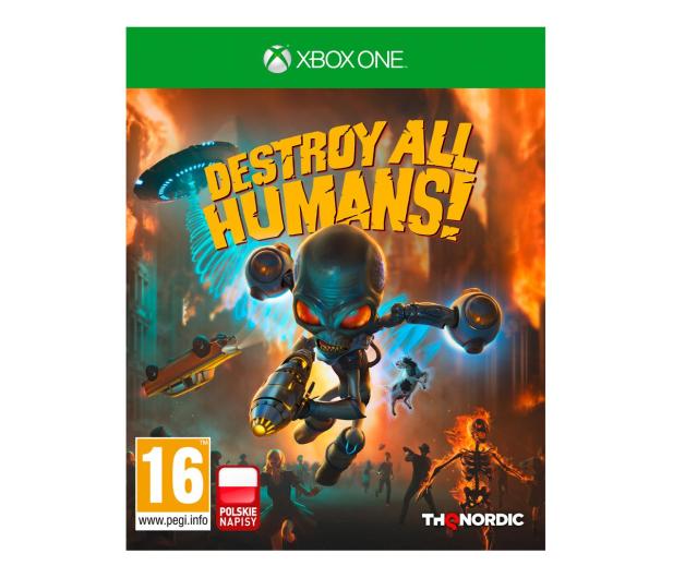 Xbox Destroy All Humans! - 593663 - zdjęcie