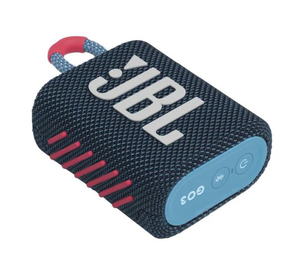 JBL GO 3 Niebiesko-różowy - 599266 - zdjęcie 3
