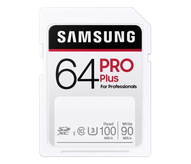 Samsung 64GB SDXC PRO Plus 100MB/s - 617900 - zdjęcie