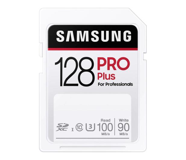 Samsung 128GB SDXC PRO Plus 100MB/s - 617901 - zdjęcie