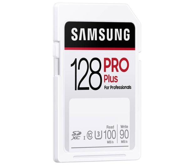 Samsung 128GB SDXC PRO Plus 100MB/s - 617901 - zdjęcie 3