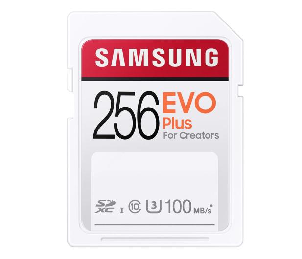 Samsung 256GB SDXC EVO Plus 100MB/s - 617909 - zdjęcie