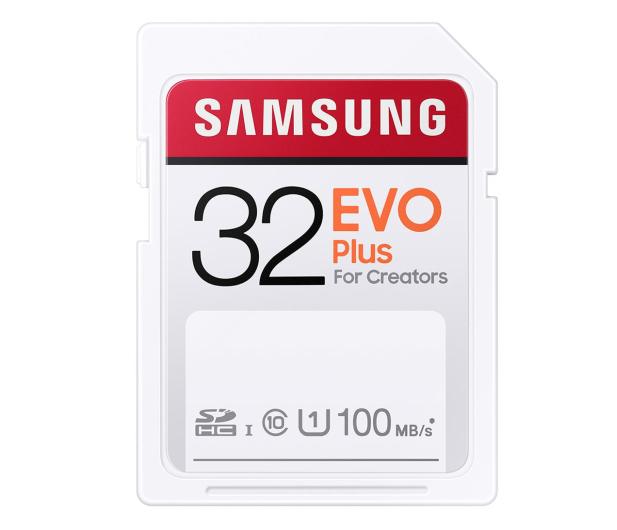 Samsung 32GB SDHC EVO Plus 100MB/s - 617904 - zdjęcie