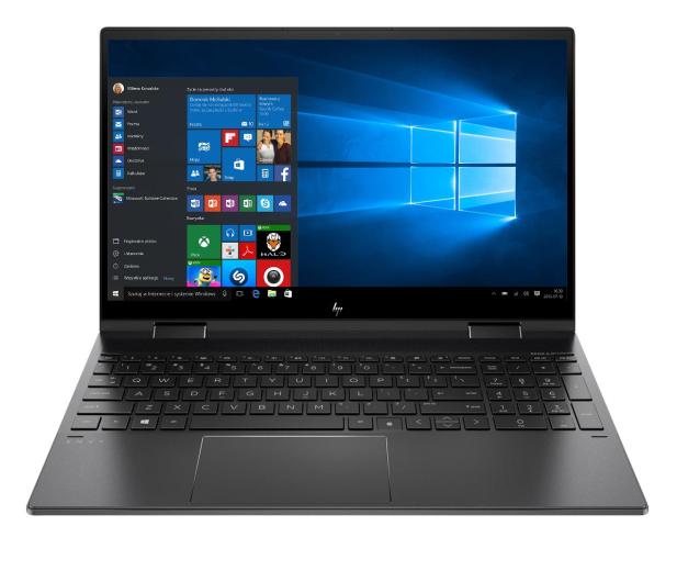 HP ENVY 15 x360 Ryzen 7-4700/32GB/512/Win10 Black - 633376 - zdjęcie