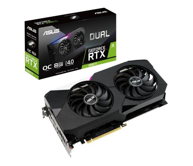 ASUS GeForce RTX 3060 Ti DUAL 8GB GDDR6  - 609943 - zdjęcie