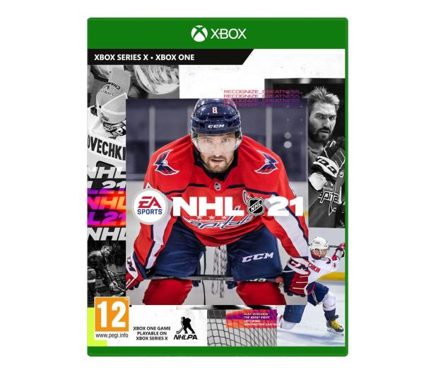 Xbox NHL 21 - 599539 - zdjęcie