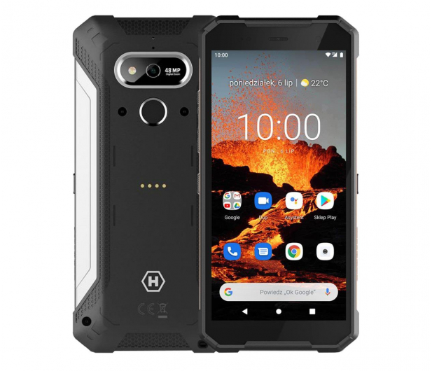 myPhone Hammer Explorer Pro Srebrny - 611432 - zdjęcie
