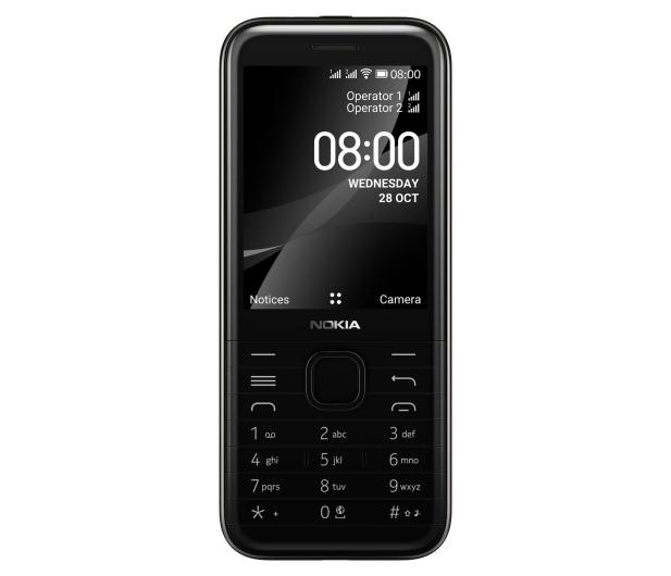 Nokia 8000 4G Dual SIM czarny - 612108 - zdjęcie 3