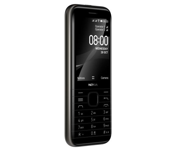Nokia 8000 4G Dual SIM czarny - 612108 - zdjęcie 4