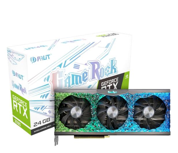 Palit GeForce RTX 3090 GameRock 24GB GDDR6X - 607812 - zdjęcie