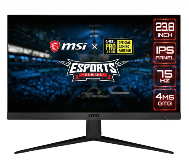 MSI Optix G241V czarny - 611983 - zdjęcie
