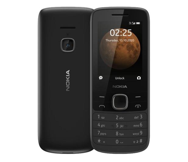 Nokia 225 4G Dual SIM czarny - 612110 - zdjęcie