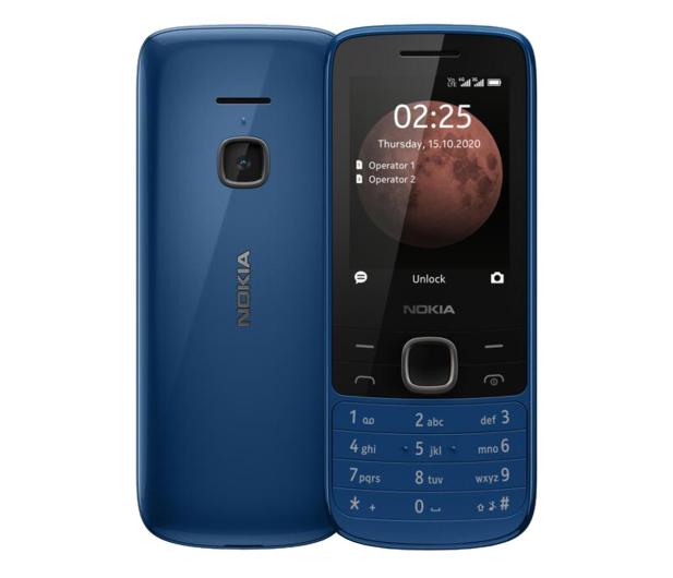 Nokia 225 4G Dual SIM niebieski - 612109 - zdjęcie