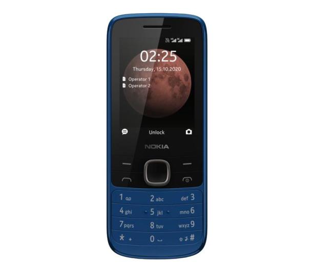 Nokia 225 4G Dual SIM niebieski - 612109 - zdjęcie 4