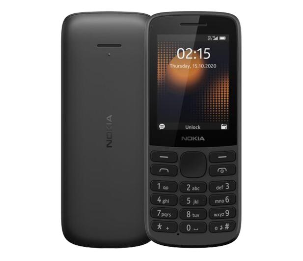 Nokia 215 4G Dual SIM czarny - 612111 - zdjęcie