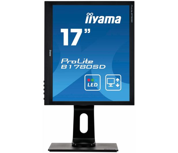 iiyama B1780SD czarny - 261165 - zdjęcie 3