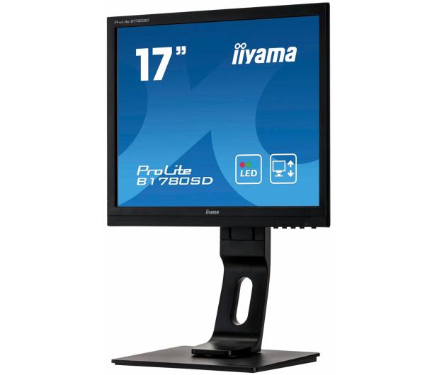 iiyama B1780SD czarny - 261165 - zdjęcie 2